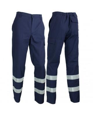 Pantaloni cotone con bande T-VEDO