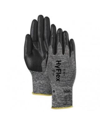 Guanti nitrile polsino HyFlex® foam 11-801