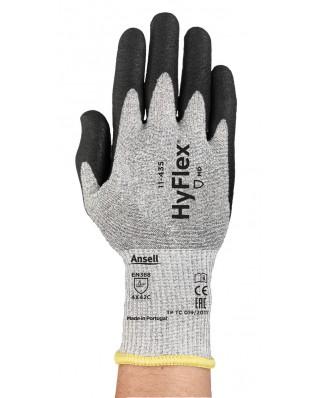 Guanti PU polsino HyFlex® 11-435