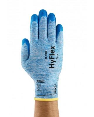 Guanti nitrile polsino HyFlex® grip 11-920