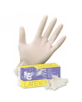 Guanti lattice senza polvere Latex PRO ESF