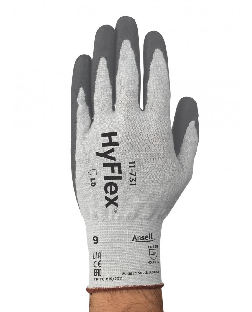 GUANTI PU POLSINO HYFLEX® 11-731