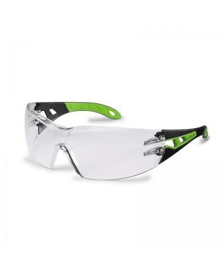 Occhiali lenti incolore pheos 9192-225 nero/verde