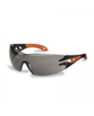 Occhiali lenti grigie pheos 9192-245 nero/arancio