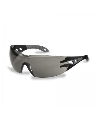 Occhiali lenti grigie pheos 9192-285 nero/grigio