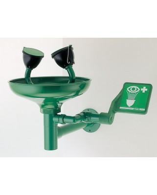 Lavaocchi a parete con vaschetta 1100/300 verde