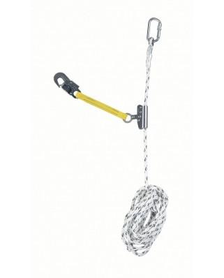 Anticaduta su corda Titan m 15