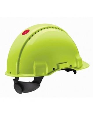 Elmetti Hi-Viz G3000NUV-GB (bardatura cricchetto plastica)