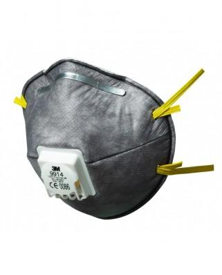 Mascherine FFP1 carboni attivi con valvola 9914