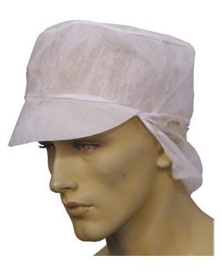 Cappellini PLP con visiera e reggicapelli