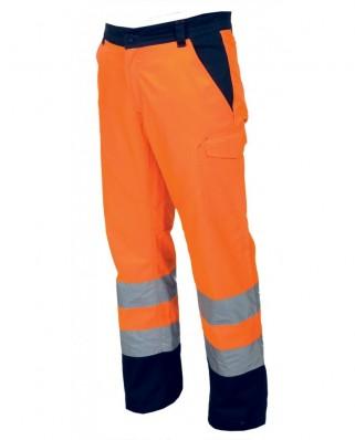 Pantaloni alta visibilità bicolore Charter