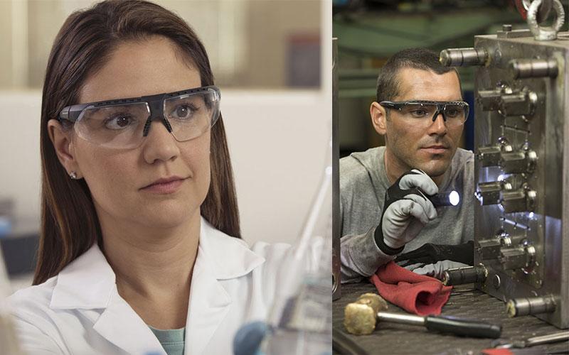 occhiali protettivi antinfortunistica